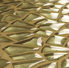 Angled Abstract Glass Tiles from The Transparenze Collection