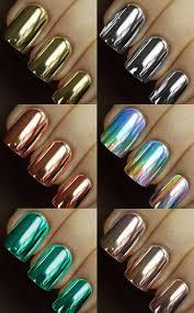 Metallic Nail Art Designs - Best Nails Art Ideas