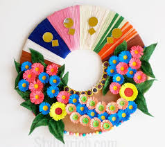 Recycled Flower Paper 10 Paper Flower Wreaths You Can Diy