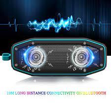 Loa Bluetooth Ngoài Trời Chống Nước Loa Di Động 10W Hộp Âm Thanh Nhạc Cột  Không Dây Loa Siêu Trầm HD Bass Stereo|Outdoor Speakers