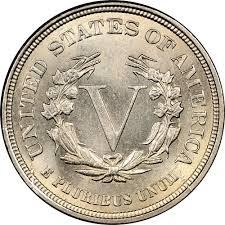 V Nickel Value Chart 1883 No Cents 5c Ms Liberty Head Five Cents Ngc