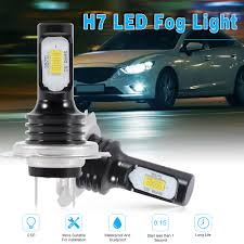 Dual Fog Lights Details About 2x Lamp 6 Csp H7 White Light Led Bright Fog Lights Dual Beam 220w Replace Ld2078
