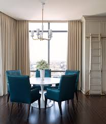 eye catching dining room plans the best of royal blue dining chairs traditional room with