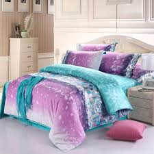 aqua blue and light purple modern chic geometric pattern plaid print soft and elegant fresh world