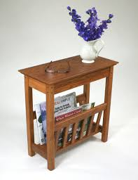 End Table With Magazine Holder Small side table with magazine rack the simple but very stylish 2