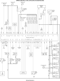 2001 dodge dakota electrical schematic wiring diagrams cks  at Wire Harness For Trailer For A 91 Dodge Dakota