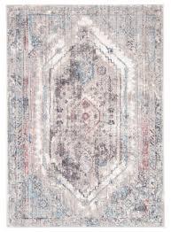 famous maker ostia navi ost 1050 gray pink area rug