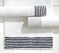 striped bathroom rug grey and white striped bath rug