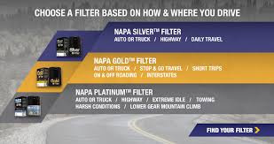Napa Filter Cross Reference Chart Specials And Promotions For Filters Napa Filters