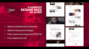Naaz Sarif Resume Pack Themeforest Website Templates And
