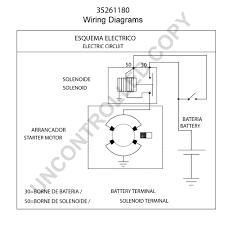 35261180 starter motor product details prestolite leece neville 35261180 wiring diagram