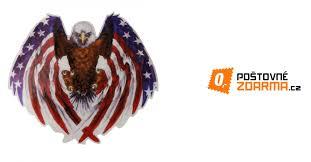 Samolepka Na Auto Americký Orel Bělohlavý 75 Kč