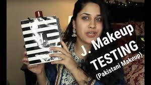 testing out j junaid jamshed note makeup stani makeup