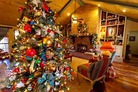 Small Picture Christmas Tree Decorations Ideas And Arrangement Founterior View