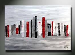 modern art for office. brilliant modern office art painting abstract custom 36 x 24 original city view cityspace modern  art by throughout for e
