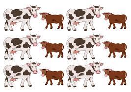 Игры и упражнения на тему «Корова»