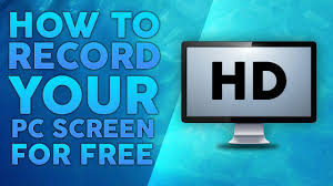 Record Your Computer Screen How To Record Your Computer Screen For Free 2018 Youtube