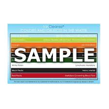 Ioncleanse Color Charts 5 A Major Difference