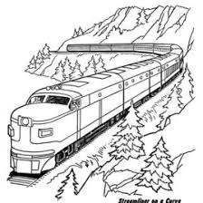 Small Picture Free Printable Train Coloring Pages For Kids Train Coloring