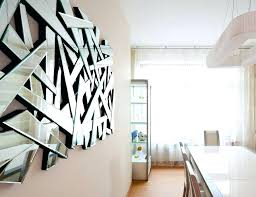 mirrored wall art uk