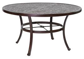 vintage round dining table
