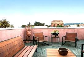 roof deck furniture. Rooftop Furniture Ideas Roof Deck Home Design And Pictures Industrial Modern P