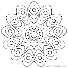 Adult Coloring Pages Simple At Getdrawingscom Free For Personal
