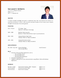6 Resume For College Students Besttemplates Besttemplates