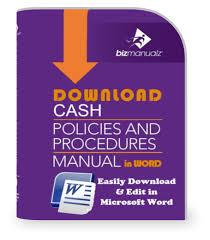 Petty Cash Accounting Journal Template Bizmanualz