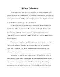 Reflective Essay Format Example Kliqplan Com