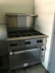 wolf 36 6 burner stove ebay