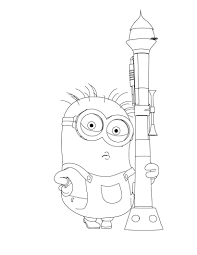 Small Picture Minions Coloring pages for kids Printable Online Coloring 1