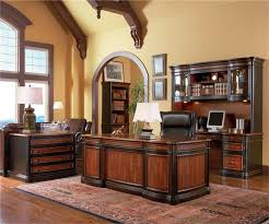 executive office desk cherry. Wonderful Cherry Brown Cherry Executive Office Desk  To A