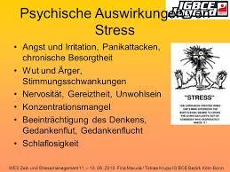 was ist psychischer stress