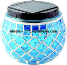 Amazoncom Solaration 1024 Solar Mosaic Glass Ball Light For Solar Mosaic Garden Lights