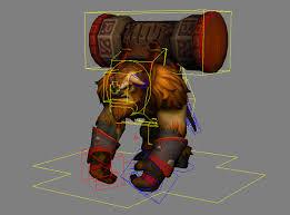 dota 2 character rig dump polycount