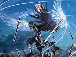 anime characters with wings. Unique Wings Anime Characters Wings Angel Male Girl Swords Wallpaper In Anime Characters With Wings