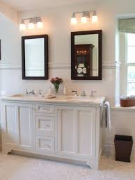 dual vanity bathroom: cute small double vanity for the girls bathroom with glass knobs
