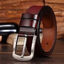 fashion men s pin buckle leather belt casual wild wide leather belt men s jeans jeans belt male