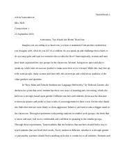 rhetorical analysis essay vancenbrock alexis vancenbrock mrs  4 pages summary and response essay