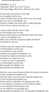 old time song lyrics for annabelle lee  music lyrics as png graphic file