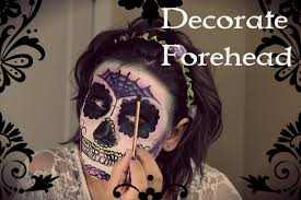 picture of decorate forehead