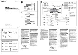 sony cdx gt wiring diagram sony wiring diagrams online sony cdx gt320 wiring diagram diagrams get image about