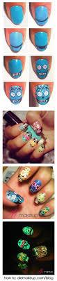 25+ beautiful Skull nail art ideas on Pinterest | Skull nails, DIY ...