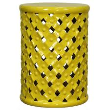 ceramic garden stool cheap. Simple Cheap Weaver Ceramic Garden Stool YELLOW Intended Cheap