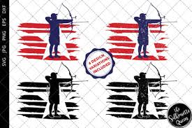 Almost files can be used for commercial. Archery Men Flag Graphic By Thesilhouettequeenshop Creative Fabrica