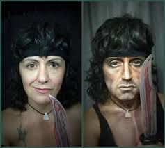 this woman s make up transformations are mighty impressive in summary lucia pittalis is really really good at making herself look like other people