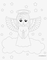 Print coloring pages & activities for kids. Coloring Pages Of Angels Angel Coloring Pages Printable Anaheim Free Transparent Png Download Pngkey