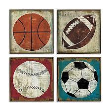vintage sport wall art
