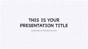 Notepad Template Notepad Free Powerpoint Template
